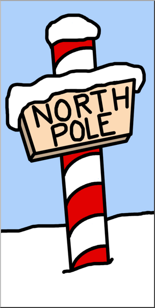 304x604 Clip Art North Pole Color I Abcteach