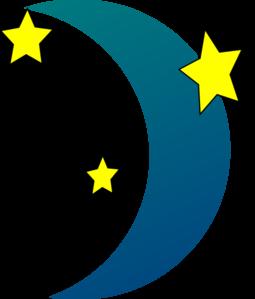 255x299 Crescent Moon N Stars Clip Art Clipart Panda