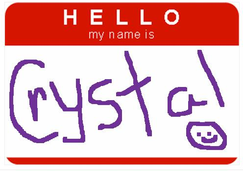 496x350 Name Tag Clipart