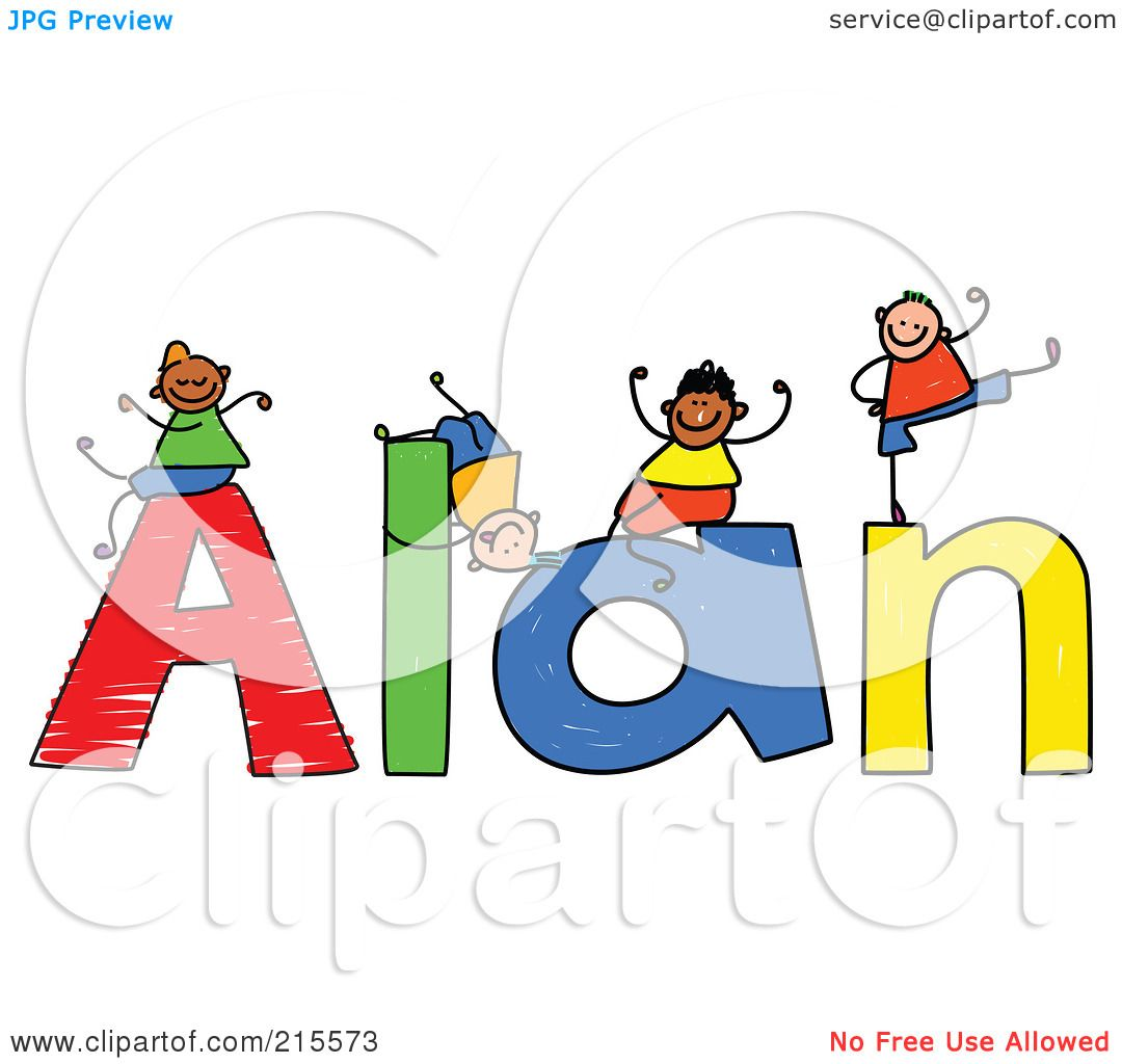 1080x1024 Royalty Free (Rf) Clipart Illustration Of A Childs Sketch Of Boys