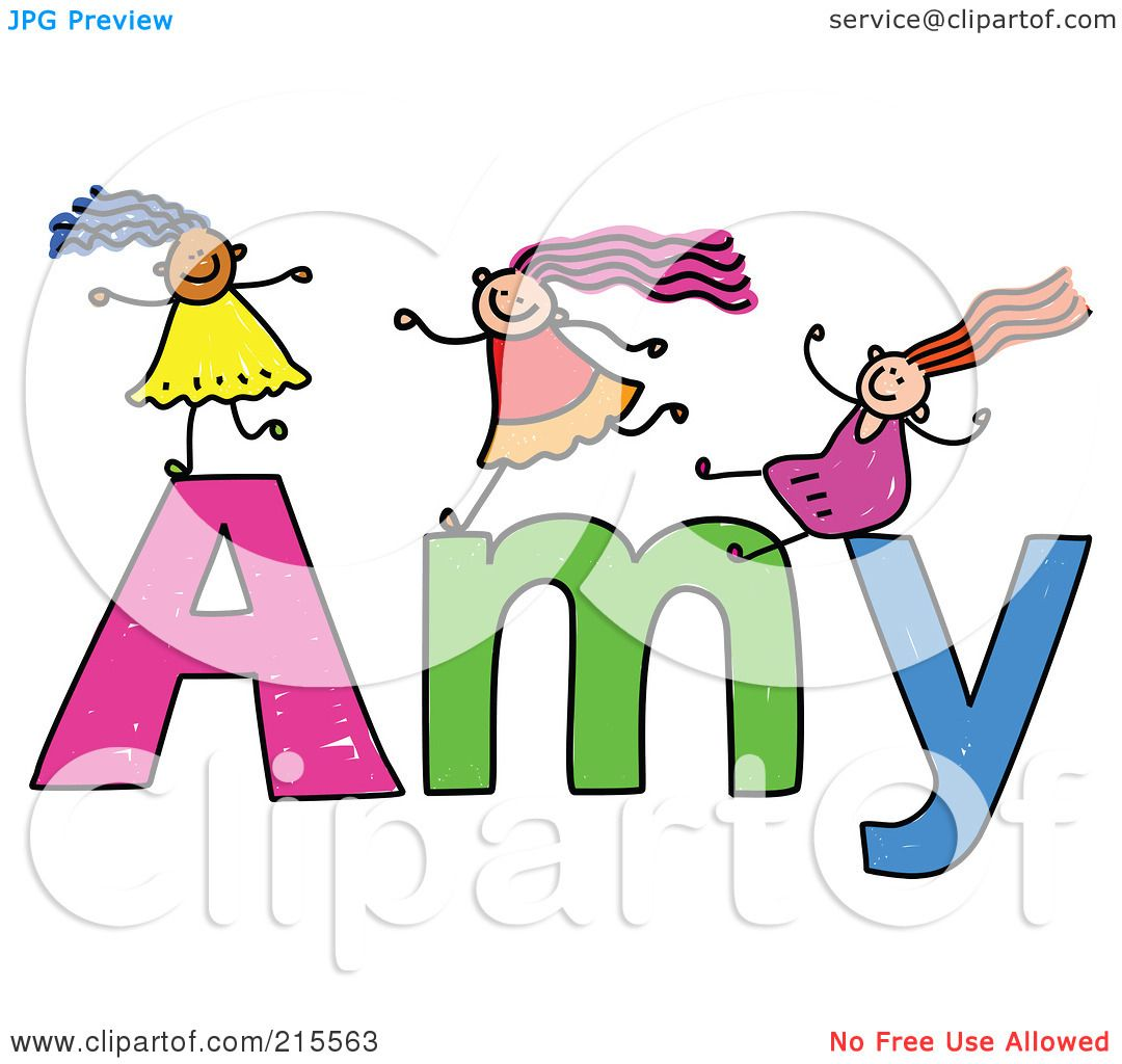 1080x1024 Royalty Free (Rf) Clipart Illustration Of A Childs Sketch Of Girls