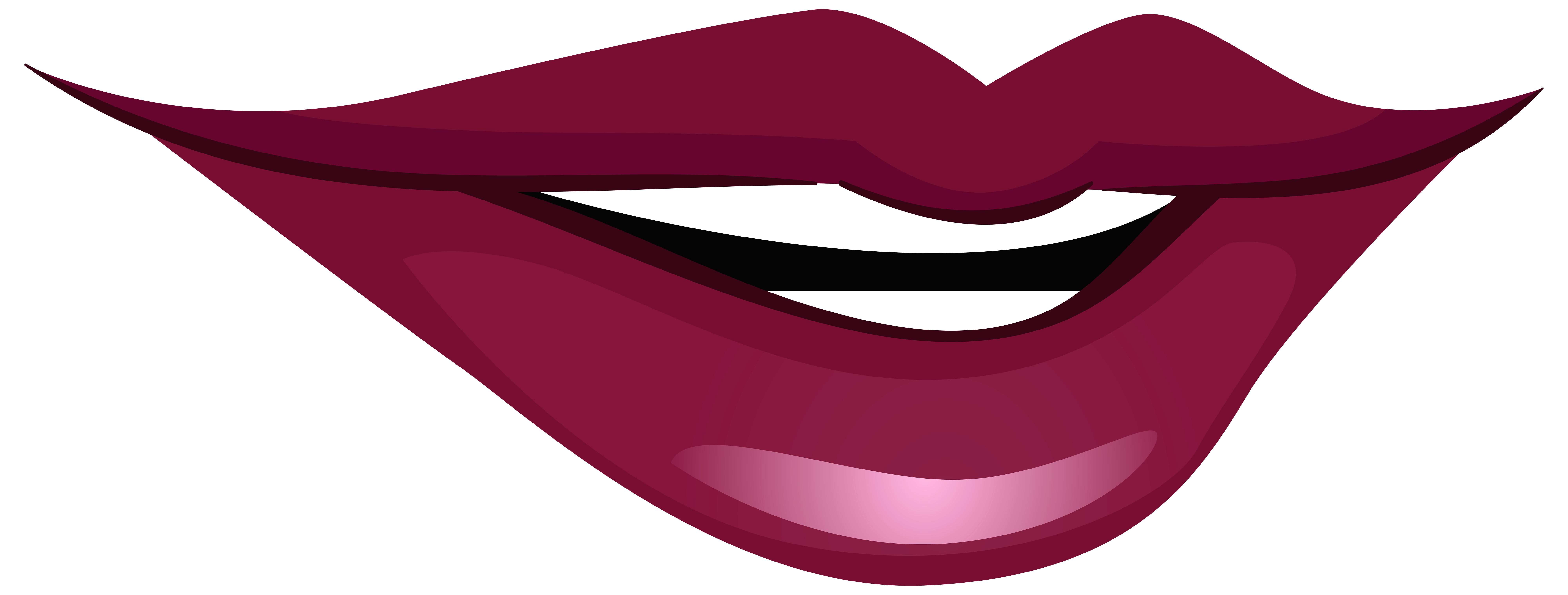 8000x3039 Smiling Mouth Png Clip Art