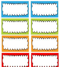 236x263 Classroom Nametag Clipart