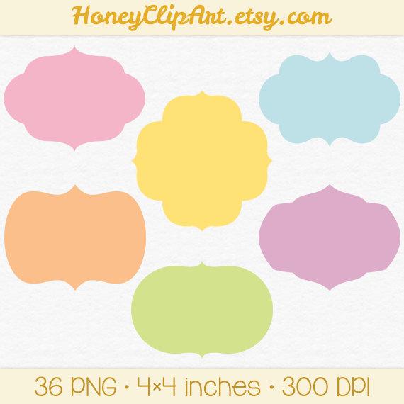 570x570 Clip Art Label Shapes Clipart