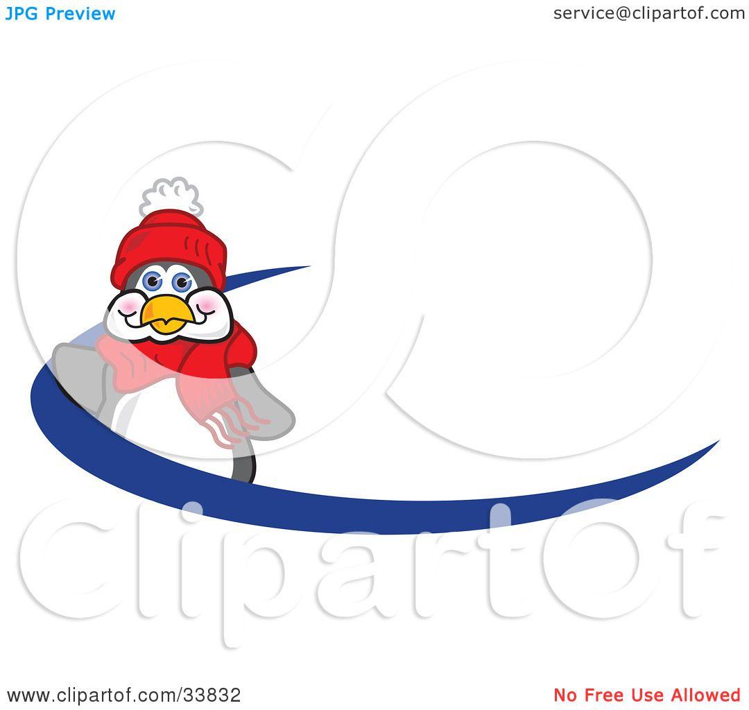 1080x1024 Clipart Illustration Of A Friendly Penguin Mascot Cartoon