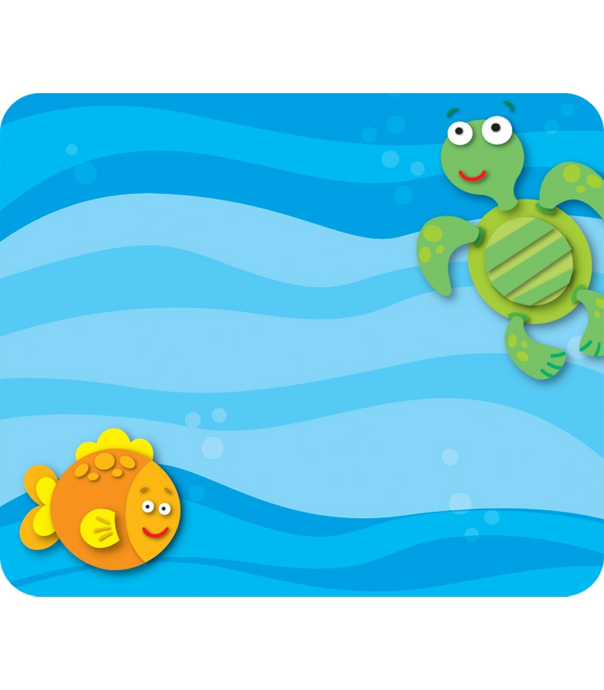 875x1000 Classroom Sea Animal Name Tag Clipart
