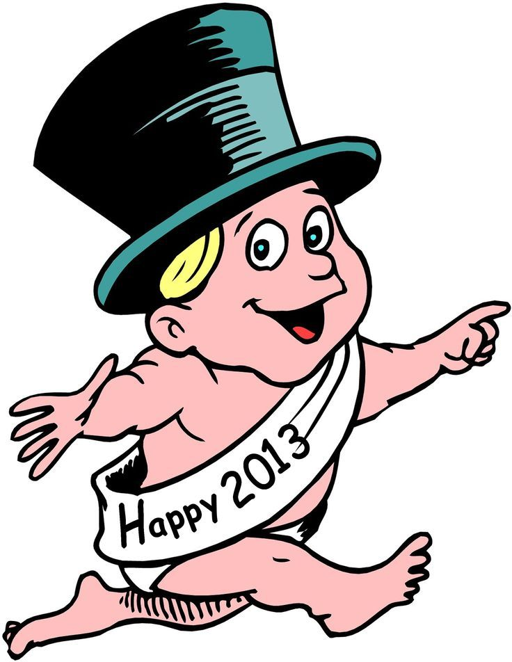 736x952 Baby New Year Clip Art New Year 201312 Graphics Clipart New