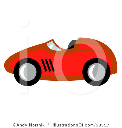 400x420 Race Car Hut Clip Art