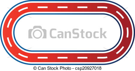 450x236 Race Track Clipart Clipartlook