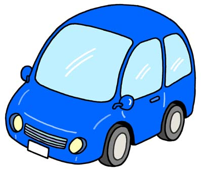 397x339 Blue Car Clipart Today