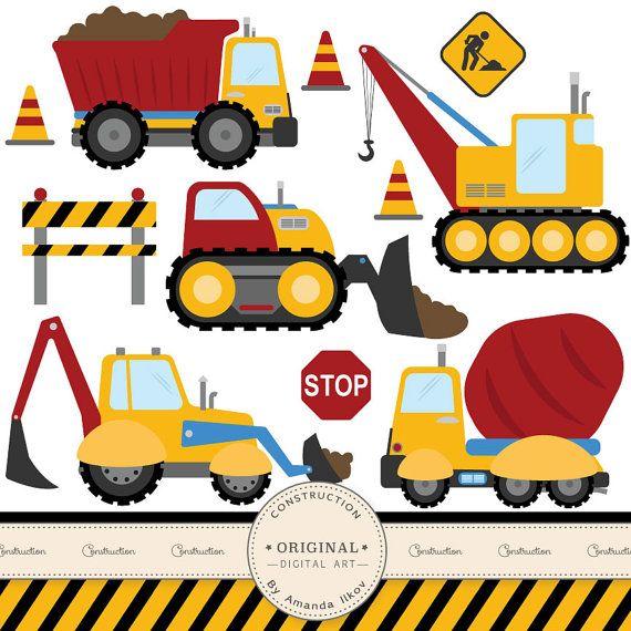 570x570 50 Best Construction Clip Art Images On Birthdays