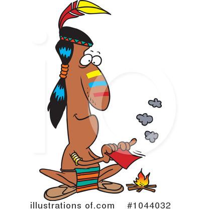 400x420 Native American Clipart