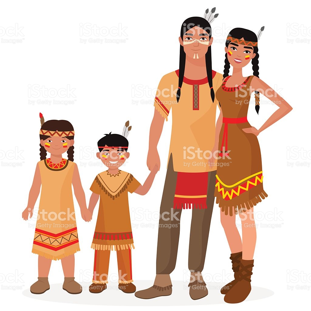 1024x1024 Collection Of Native American Family Clipart High Quality