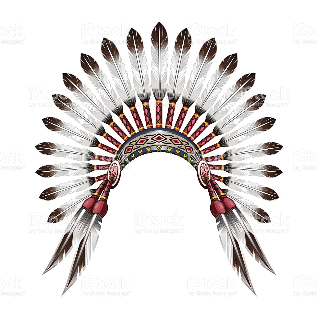 1024x1024 Native American Feather Clip Art Clipart Collection