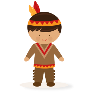 287x300 Thanksgiving Boy Native American Svg Scrapbook Cut File Cute