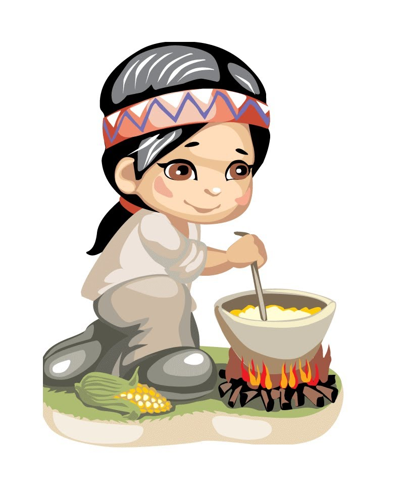 800x980 America Clipart Little Indian Boy