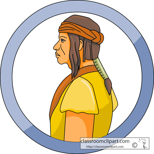 500x500 Native American Clipart