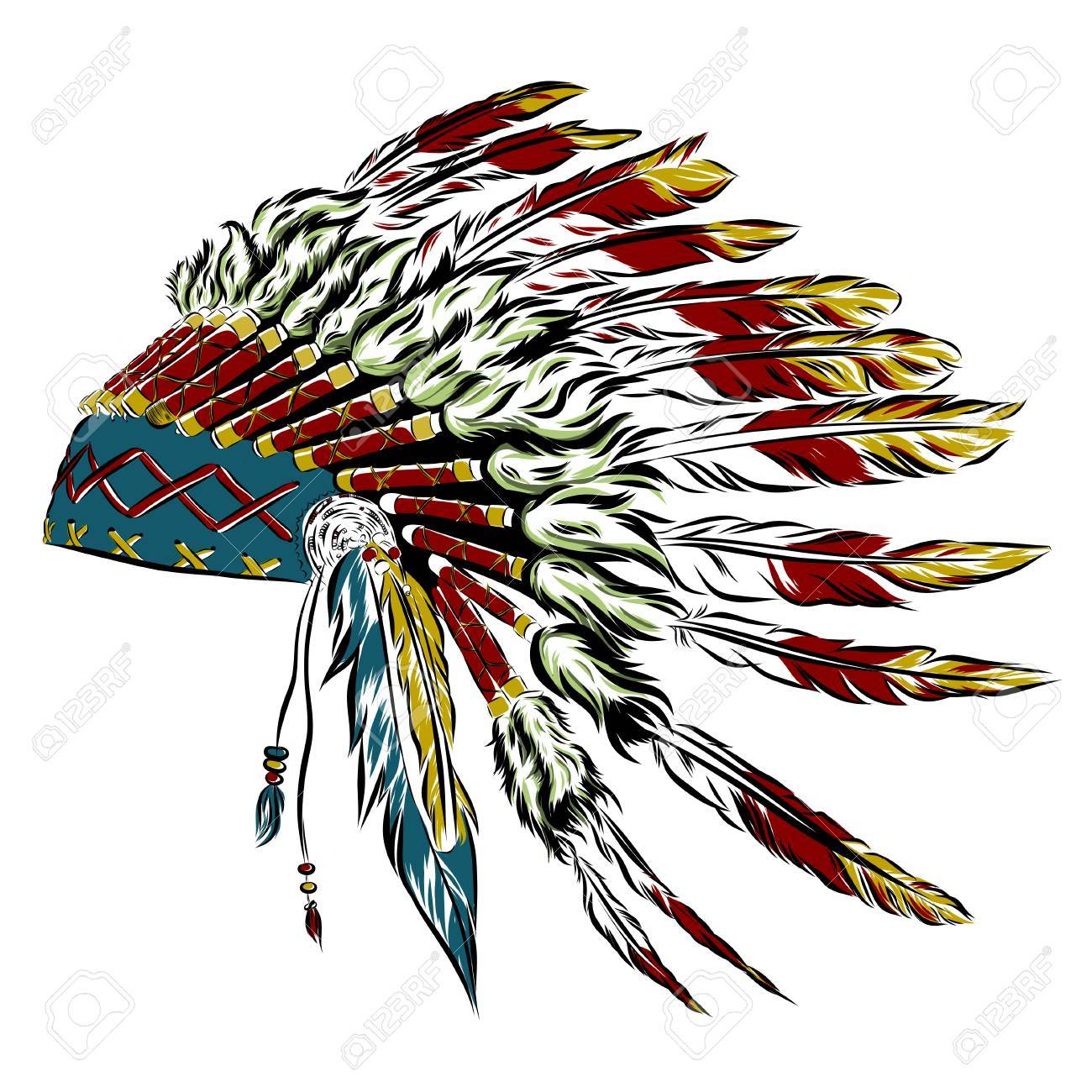 1300x1300 Pictures Indian Headdress Clip Art Free,