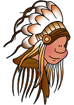252x360 Free Native Americans Clip Art By Phillip Martin
