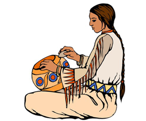 300x250 Fun Facts On Native American Art For Kids