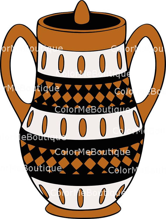 570x750 Native American Clay Pot Clipart From Colormeboutique On Etsy Studio