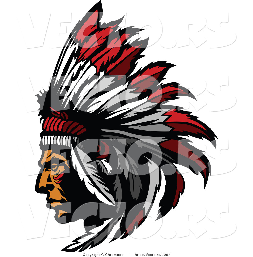 1024x1044 Native American Vector Image Group