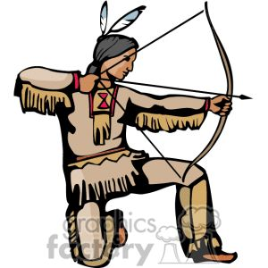 300x300 Native Indian Clipart