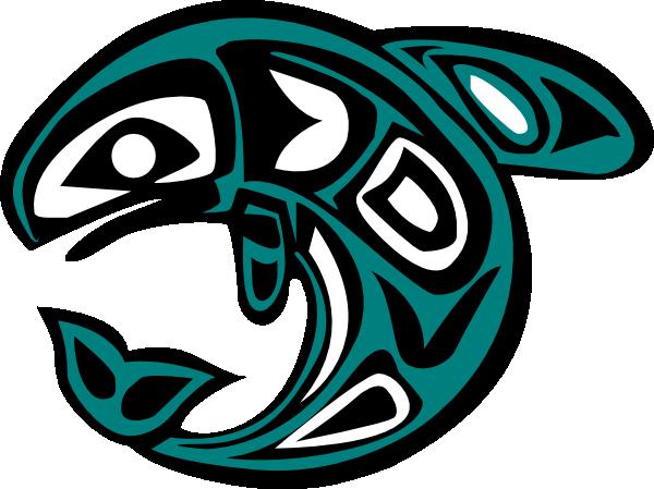 600x449 Native American Salmon Symbol