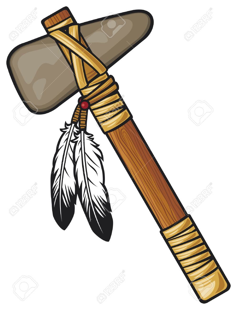 994x1300 Weapon Clipart Native American