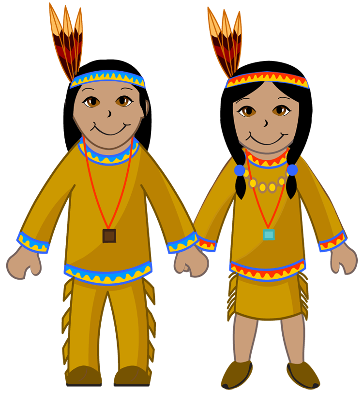 750x816 Collection Of Native American Kids Clipart High Quality