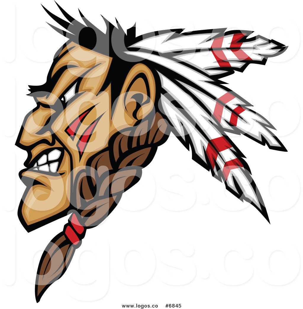 1024x1044 Green Brave Native American Clipart