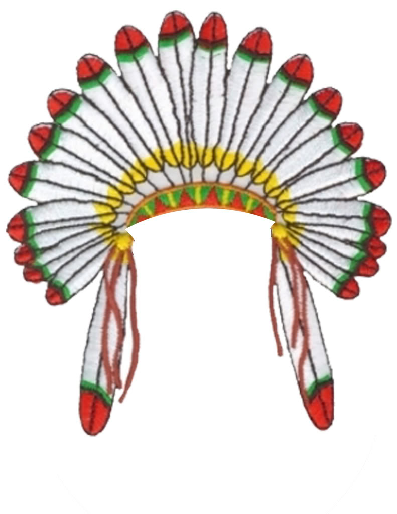 791x1024 Native American Hat Clipart