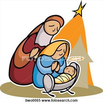 350x355 Merry Christmas Nativity Clipart Clipart Panda