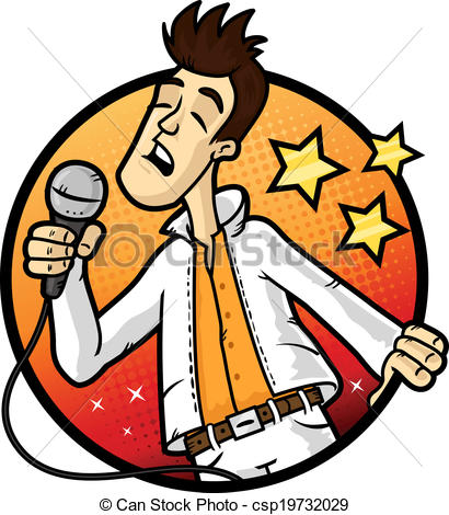 410x470 Singer Clipart Karaoke