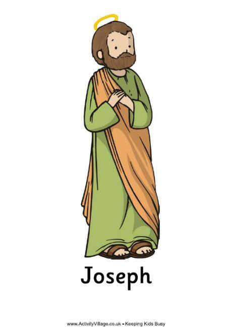 460x662 St Joseph Clipart