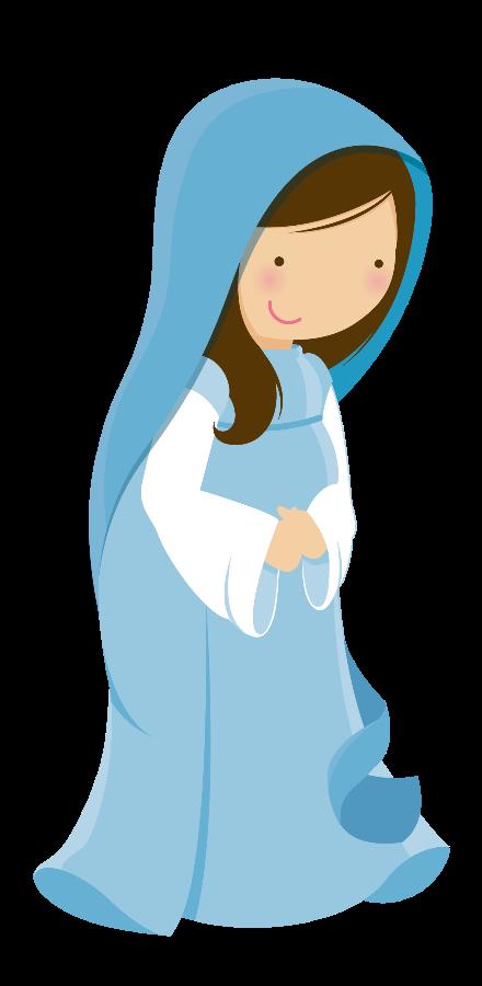 440x900 Virgen Maria El Jardin Navidad, Santos And Clip Art