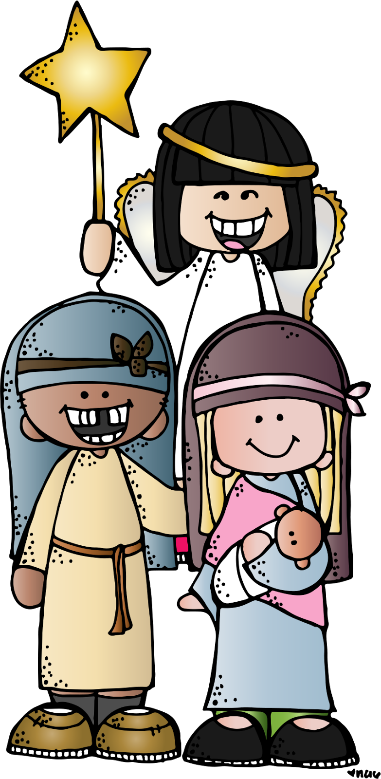 783x1600 Melonheadz Lds Illustrating Adviento Christmas Eve
