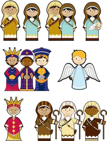 458x600 Nativity Scene Cutouts Printables Nativity Set Melissa And Doug