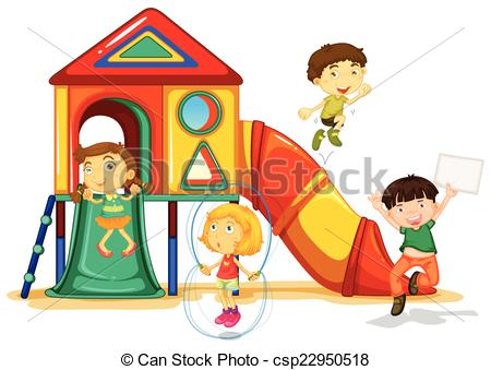 450x339 Playground Clipart Playground Illustration Of Many Children