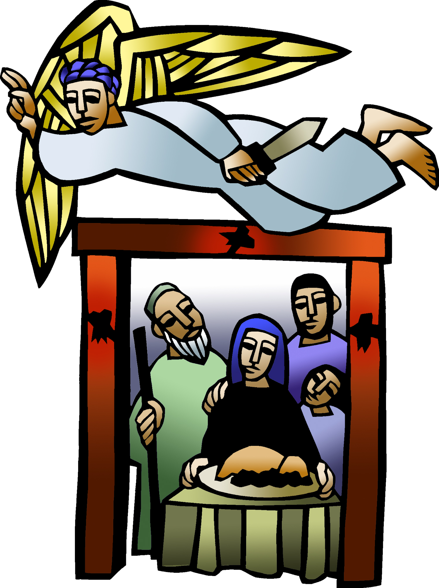 1500x2006 Icon1 Maundy Thursday 02 (Projection) (Clip Art) Bethel Lutheran