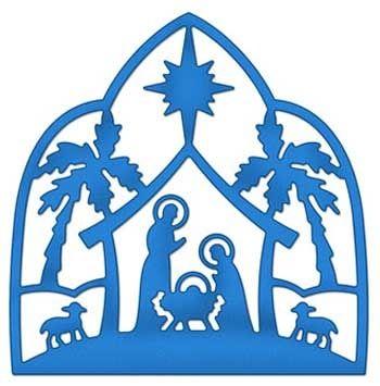350x355 Nativity Silhouette Free Nativity Silhouette Clip Art Hostted 3