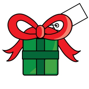 300x300 Christmas Presents Clip Art Happy Holidays!