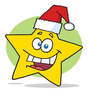 284x300 Clipart Christmas Star Halloween Amp Holidays Wizard