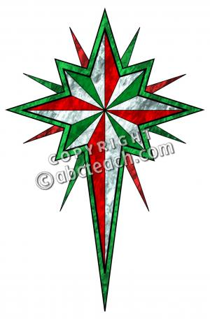 300x456 Religious Christmas Star Clip Art Halloween Amp Holidays Wizard