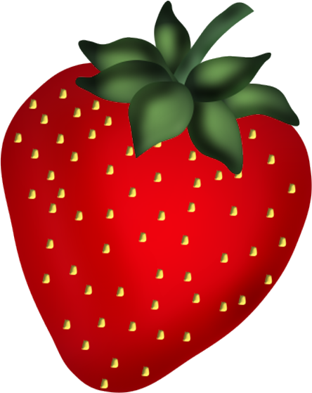 444x559 Strawberry Clip Art Clip Art
