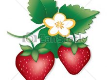 220x165 Strawberry Plant Clipart fresh natural garden strawberries flowers