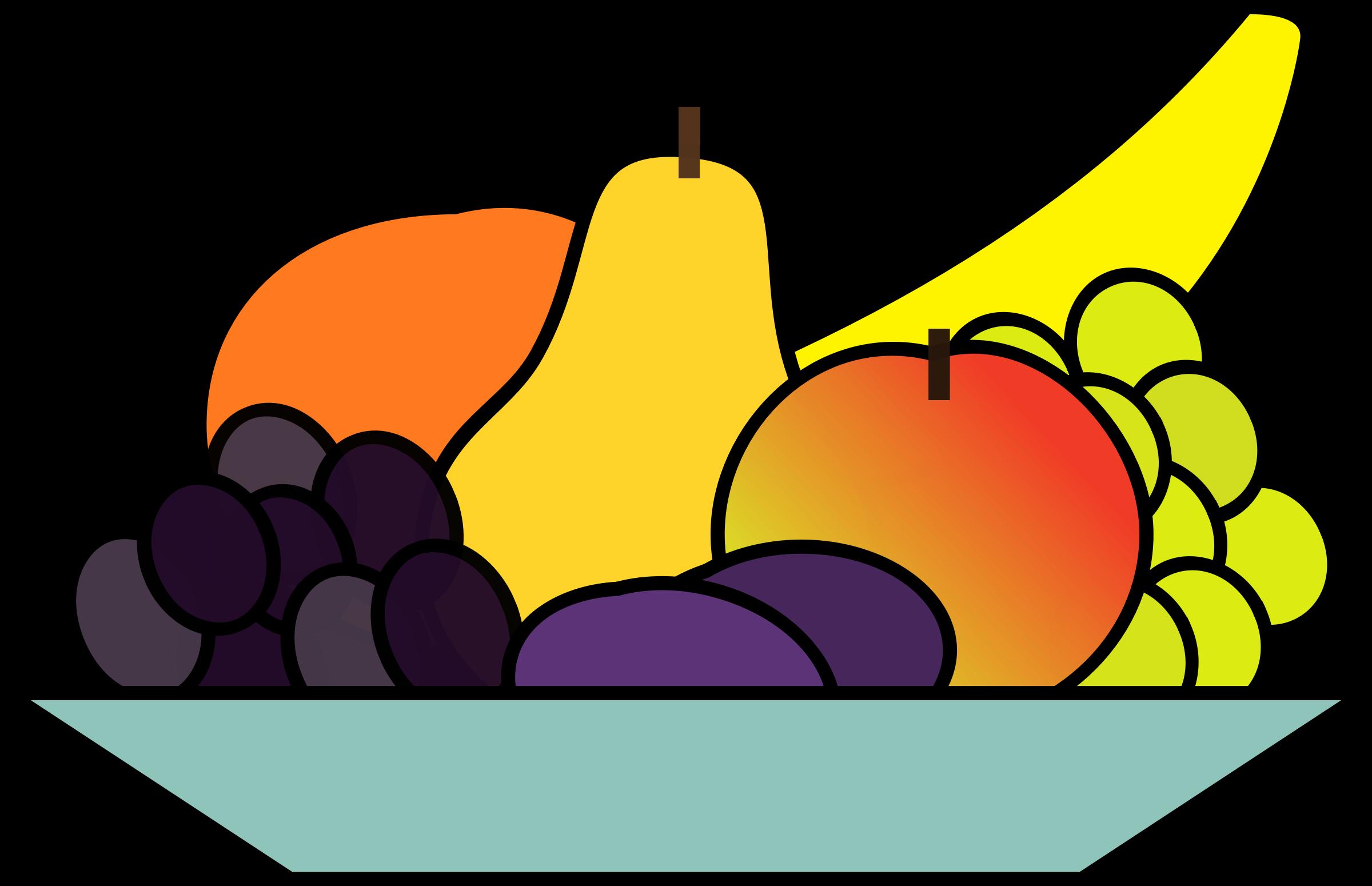 2400x1550 Top 81 Fruit Clip Art