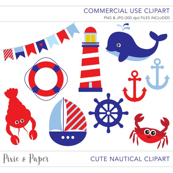 570x570 Commercial Use Clipart, Commercial Use Clip Art, Nautical Clipart