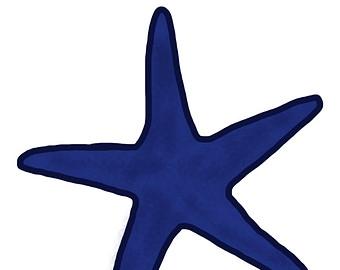 340x270 Starfish Nautical Star Clip Art Image