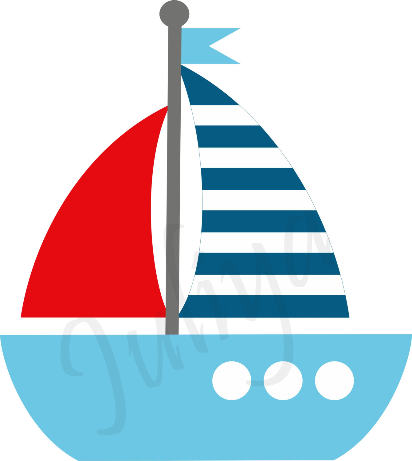 1341x1500 Nautical Clipart Nautical Kids Sailor Clipart Red White Blue